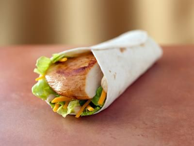 how to make a grilled chicken wrap