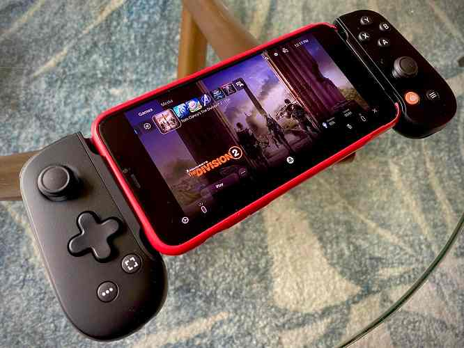 Backbone-mobile-game-controller